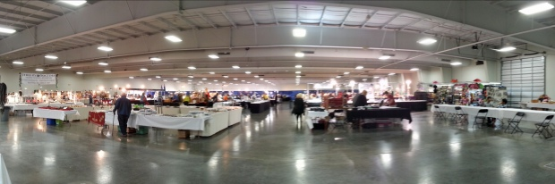 Panorama of the KCI Expo Center Gem Show