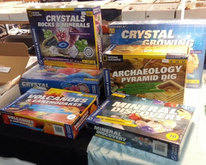 geology archaeology volcano crystal science kits toys