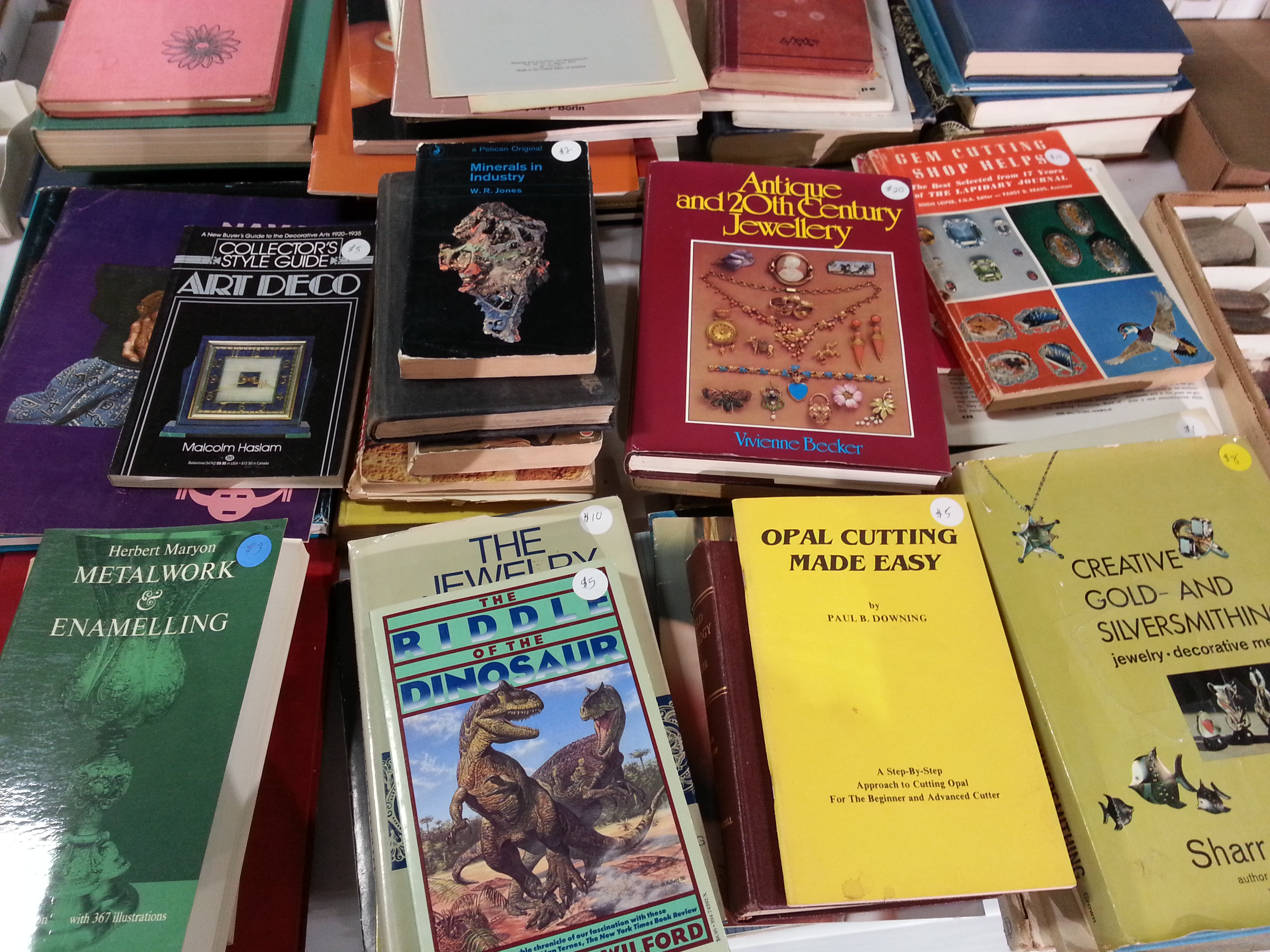 books about minerals and gem cutting for sale