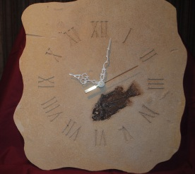 Fish Fossil Clock
