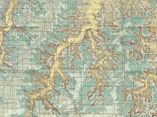 1917 Geologic Maps | Show-Me Rockhounds Kansas City