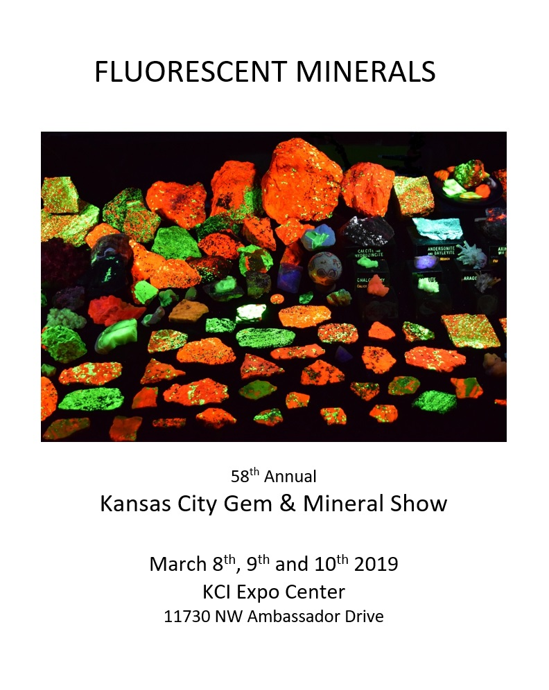 fluorescent minerals poster