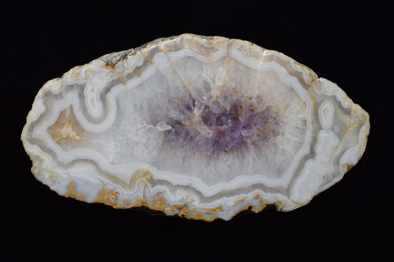 Fairburn Agate from South Dakota, photographed under white light.