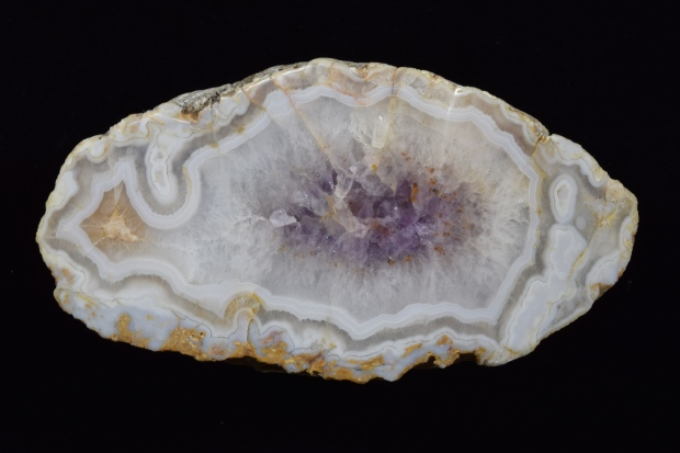 Fairburn Agate from South Dakota, photographed under white light.